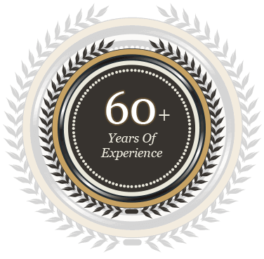 More Than 60 years Experience